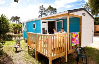 Mobil-home Loggia camping Le Boudigau