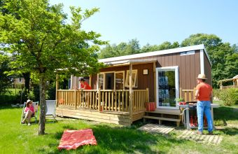 Mobil-home Premium Suite Duo camping Village Parisien