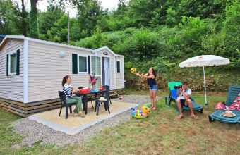 Mobil-home Riviera camping Le Moulin du Roch