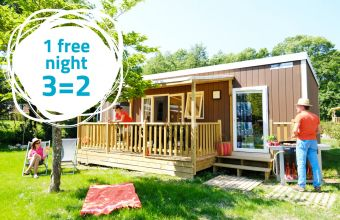 1 free night at Breteche campsite