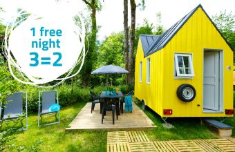 1 free night at Le Hameau du Petit Lay campsite