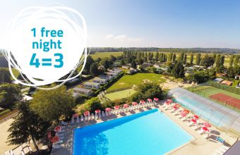 1 free night at Le Village Parisien campsite