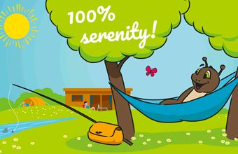 100% serenity! Cancellation insurance