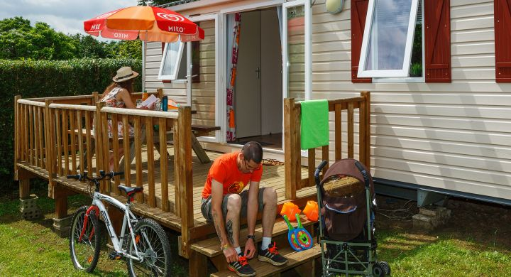 Mobil-home Club camping Le Village Parisien