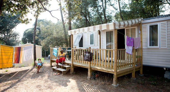 Mobil-home Famille camping Signol