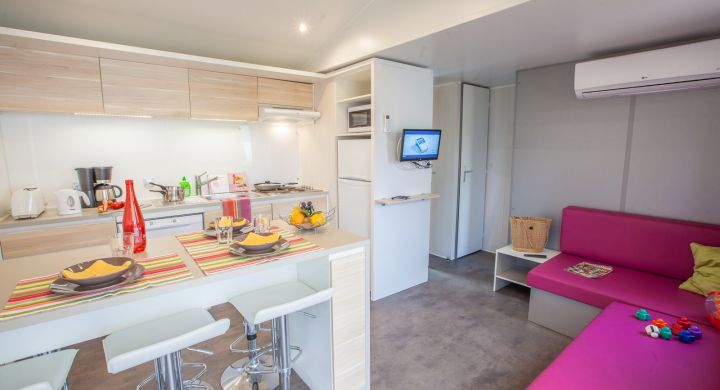 Mobil-home Tribu camping Le Boudigau